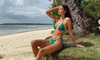 Chân dài 9x người Philippines quyến rũ mê mẩn ở biển
