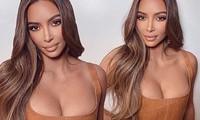 Kim Kardashian phô thềm ngực gợi cảm mừng Instagram đạt mốc 200 triệu follow