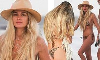 Shayna Taylor thả dáng nóng bỏng với bikini ở biển