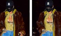 Rihanna diện mốt lộ nội y, khoe ngực táo bạo