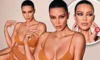 Kim Kardashian mặc nội y khoe đường cong nóng 'bỏng mắt'