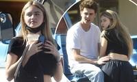 Con gái 16 tuổi của siêu mẫu Heidi Klum quấn quýt bạn trai trên phố