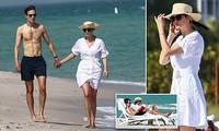 Ivanka Trump nắm tay chồng dạo biển, tận hưởng cuộc sống thảnh thơi sau rời Nhà Trắng
