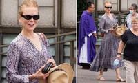 'Thiên nga nước Úc' Nicole Kidman xinh đẹp trẻ trung bất ngờ ở tuổi 54