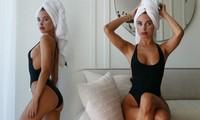 Kimberley Garner khoe dáng cực nóng bỏng với áo tắm khiến cánh mày râu 'chao đảo'