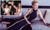 Nicole Kidman hiếm hoi khoe 2 con gái xinh đẹp tại Quả cầu Vàng