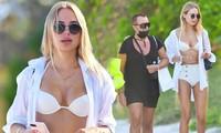 Mẫu áo tắm Kimberley Garner dáng đẹp như tạc tượng với bikini