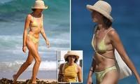 Bạn gái người mẫu của Zac Efron đẹp như tạc tượng ở biển với bikini