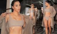 Kim Kardashian liên tục tung ảnh nội y, gầy đi trông thấy giữa 'bão' ly hôn
