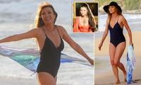 Nàng Bond Girl nóng bỏng một thời Jane Seymour tự tin diện áo tắm ở tuổi 70