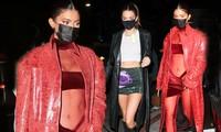 'Siêu mẫu đắt giá nhất thế giới' cùng em gái tỷ phú mặc sexy đi tiệc của Justin Bieber