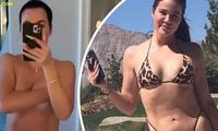 Khloe Kardashian đăng video bán nude khẳng định không chỉnh sửa ảnh