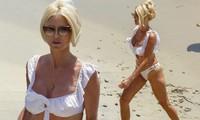 Hoa hậu Thụy Điển gây ngưỡng mộ với thân hình 'bốc lửa' ở tuổi U50