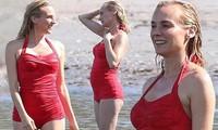 Nàng Helen xinh đẹp của 'Cuộc chiến thành Troy' khoe dáng sexy với áo tắm