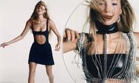 Con gái 19 tuổi của huyền thoại mẫu Kate Moss khoe dáng táo bạo trên Vogue Hong Kong