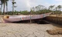 Bãi cọc cổ ở Hải Phòng liên quan trận Bạch Đằng được chôn lấp để bảo tồn