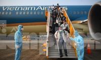 Sân bay Vân Đồn đón thêm hơn 500 người Việt về từ vùng dịch châu Âu
