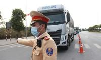 Nhìn gần các chốt kiểm dịch ở cửa ngõ thành phố Hạ Long