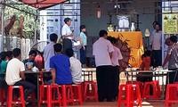 Gia đình tổ chức tang lễ cho em Trần Hường