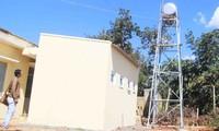 Công trình vệ sinh tại Trạm Y tế xã Ia Glai (huyện Chư Sê, Gia Lai) đã cơ bản hoàn thành