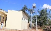 Công trình vệ sinh tại Trạm Y tế xã Ia Glai thi công gần xong rồi mới mời thầu