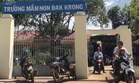Trường Mâm non Đắk Krong