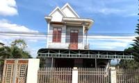 Nhà bà P. nơi xảy ra vụ cướp tài sản