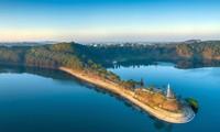 Vé vào lâm viên Biển Hồ Pleiku sẽ được miễn phí cho các VĐV. Ảnh: Phan Nguyên