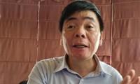 Trưa 2/7, ông Trần Vũ Hải có mặt văn phòng luật sư khi công an thực thi lệnh khám xét