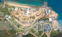 Phát hiện KDL Hòn Tằm Nha Trang tự ý lấn biển, chiếm hàng nghìn m2 đất trái phép