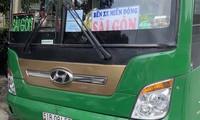 Chiếc xe khách chở người Trung Quốc bị phát hiện ở Phú Yên