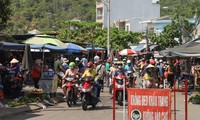 Khánh Hoà xuất hiện nhiều ca mắc COVID - 19 tại các chợ ở TP. Nha Trang. Ảnh THIÊN BÌNH.