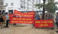 Người mua nhà qua Công ty Việt Thái khổ sở vì theo kiện đòi nhà.