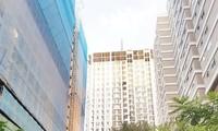 Dự án Mỹ Sơn Tower vừa bị đề nghị xử phạt 1,5 tỷ đồng vì nâng tầng. Ảnh: Quang Lộc.