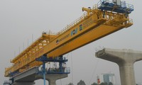 Thi công gói thầu số 2 (đoạn đi trên cao) dự án tuyến metro số 1.