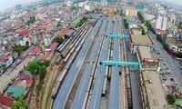 KTS. Nguyễn Việt Huy cho rằng Hà Nội đang làm ngược quy trình với ga Hà Nội. Ảnh: Mạnh Thắng.