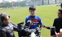 Xuân Trường chia sẻ muốn được trải nghiệm chơi bóng tại Thai-League, sau thời gian không thành công tại K-League. Ảnh: VSI.