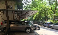 Khu tái định cư 7,2ha phường Vĩnh Phúc (quận Ba Đình) không thành lập được Ban quản trị tòa nhà đã nhiều năm nay. Ảnh: Trường Phong.