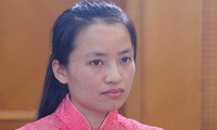 Gương mặt trẻ Việt Nam tiêu biểu 2017 Tiến sĩ Vũ Bích Ngọc.