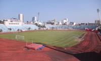 Sân vận động Chi Lăng đã được Ðà Nẵng bán cho Phạm Công Danh từ năm 2011, sau đó bị chia thành 14 lô để cầm cố ngân hàng. Ảnh: Nguyễn Thành.