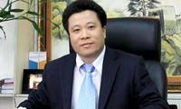 Ông Hà Văn Thắm lúc đương nhiệm.