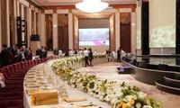 Một góc bài trí các món ăn tại khách sạn Crowne Plaza, Đà Nẵng.