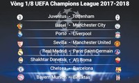 ĐKVĐ Real gặp khó ở vòng 1/8 Champions League