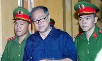 Bị cáo Phạm Công Danh tại tòa ngày 9/1. Ảnh: Tân Châu.