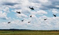 Lính nhảy dù thuộc Sư đoàn 82 của Lục quân Mỹ trong đợt tập trận vào tháng 5/2016. Ảnh: Getty Images.