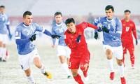 ĐT U23 Việt Nam thi đấu đầy nỗ lực và có được thành công lớn tại giải U23 châu Á, nhưng điều đó chưa đủ để khẳng định bóng đá Việt Nam đã được nâng lên một tầm cao mới. Ảnh: Hữu Phạm.