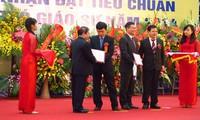 Lễ phong tặng đạt tiêu chuẩn chức danh Giáo sư, phó giáo sư tại Văn Miếu.
