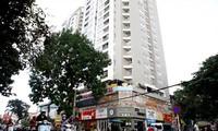Nhiều chung cư ở Hà Nội cả chủ đầu tư và người dân đều không mua bảo hiểm cháy nổ. Ảnh: Như Ý.