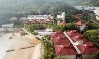 Toàn cảnh khu Resort Hoàng Gia Quy Nhơn Ảnh: Tr.Định