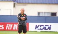 HLV Park Hang Seo khẳng định chưa bao giờ đòi hỏi về tiền bạc với VFF. Ảnh: VSI